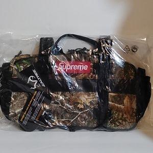 New Supreme FW19 Real Tree Camo Waist Bag